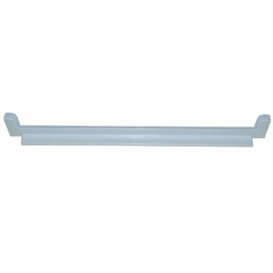 Indesit White Plastic Refrigerator Rear Glass Shelf Trim