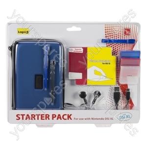 DSi Xl Starter Pack - Blue