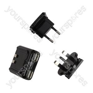 Universal Usb Dual Port Ac Adaptor