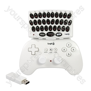 Wii Wireless Keyboard for Wii GamePad