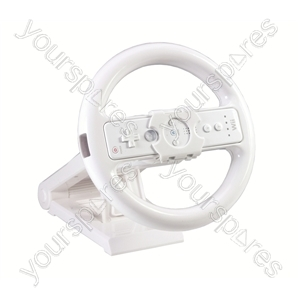 Wii Steering Wheel and Stand