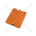 iPad Leather Case - Orange
