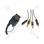 XB360 AV-S Video Cable