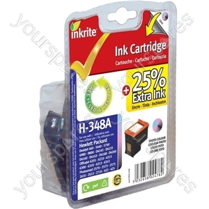 Inkrite NG Ink Cartridges (HP 348) for HP - C9369E Photo Colour