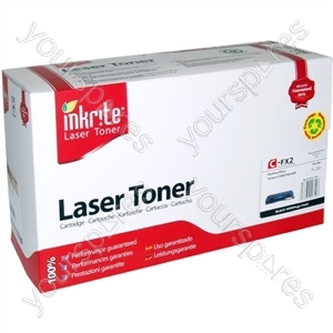 Inkrite Laser Toner Cartridge compatible with Canon FX2 Black