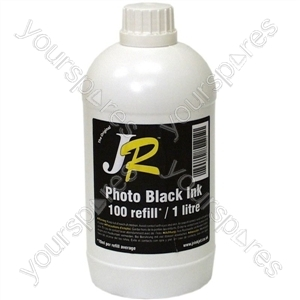 Just Refill 1 Litre Photo Black Universal Refill Ink