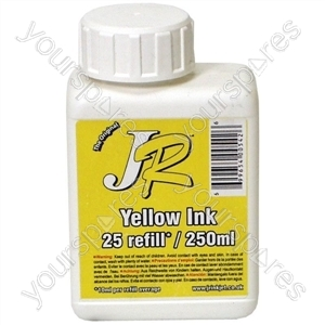Just Refill 250ml Yellow Universal Refill Ink