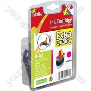 Inkrite NG Printer Ink for Brother MFC 210C 420CN 3240C - LC41 LC47 LC900 Magenta (Seal)