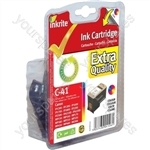 Canon Pixma MP470 NG Ink Cartridges (CL-41) for ip1200 1300 1600 1700 2200 MP150 170 450 - CL41 Clr