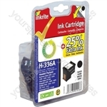 Inkrite NG Ink Cartridges (HP 336) for HP PSC 1510 1513 Deskjet 5440 5443 - C9362E Black