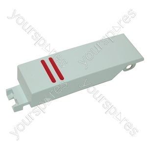 Bosch White Washing Machine Push Button Cap