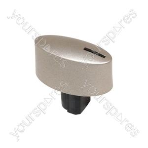 Neff Silver Oval Hob Control Knob