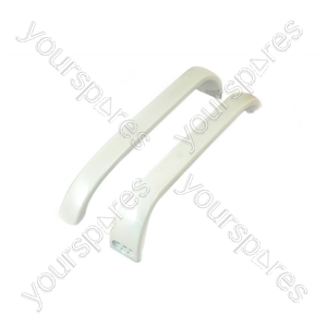 Bosch Refrigerator White Door Handle - Pack of 2