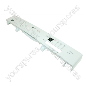 Bosch White Dishwasher Control Panel