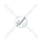 Bosch White Hob Control Knob