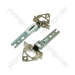 Bosch 195301202 Refrigerator Door Hinge Kit - Pack of 2