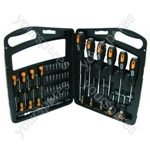 Screwdriver Set 52 Piece Soft Grip Handles