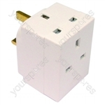 Plug In Adaptor 3 Way