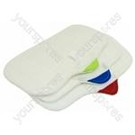Hometek Steam Mop Cloth Pads Set Of 3