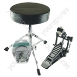 Electric Drum Kit / Drum Kit Add on Accessories Pack