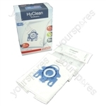 Miele Vacuum Cleaner GN HyClean 3D Efficiency Dust Bag & Filter Pack - Pack of 4 Bags