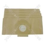 Moulinex Powerclean Vacuum Cleaner Paper Dust Bags