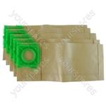 Sebo K1 Vacuum Cleaner Paper Dust Bags
