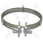 Rangemaster Replacement Fan Oven Cooker Heating Element (2500w) (3 Turns)