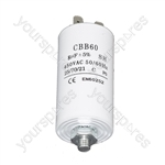 Universal 8UF Microfarad Appliance Motor Start Run Capacitor