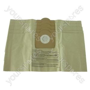 Aquavac 960 Vacuum Cleaner Paper Dust Bags x 5