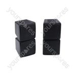 Stereo satellite speakers, 2-way, 100W max, Pair - Silver