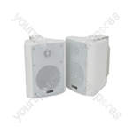 BC SERIES - STEREO BACKGROUND SPEAKERS