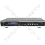 (EU version) KA-36 AV/Karaoke Stereo Amplifier, Black/Silver