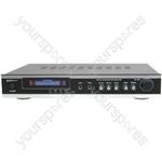 (EU version) KA-36 AV/Karaoke Stereo Amplifier, Black/Silver