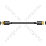 High speed HDMI lead with ethernet - 5.0m