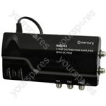 6 Way VHF/UHF Distribution Amplifier