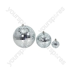 Mirrorball, plain glass, 25cmØ