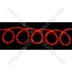(EU version) LED Rope light set - 20m, Multicolour