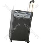 PPA74 Portable DVD/USB + VHF Karaoke System