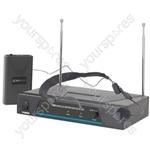 VHF wireless neckband mic system - 197.32MHz