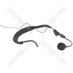 Neckband microphone for wireless systems