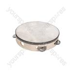 "Headed Tambourine 25cm (10"")"