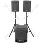 QL SERIES ACTIVE 2.1 PA SYSTEM