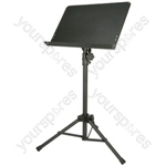 Music Stand Solid Sheet Holder