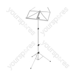 Folding Sheet Music Stand Blk