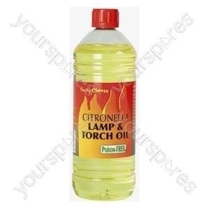 Citronella lamp and torch oil