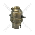 WA94 Antique brass lampholder - bulk