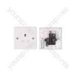 WA16BL 1 gang wall socket - blister