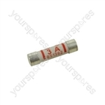 Assorted mains plug fuses, 2x3A, 2x5A & 2x13A