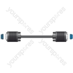 HQ VGA monitor extension lead, plug to socket, 5.0m - Bag